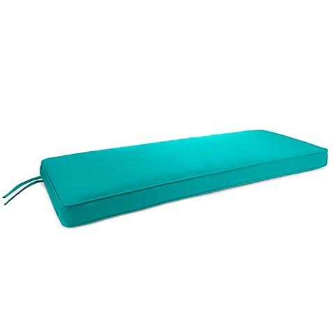 Buy 18 Inch X 48 Inch 2 Person Bench Cushion In Sunbrella Canvas Aruba From Bed Bath Beyond