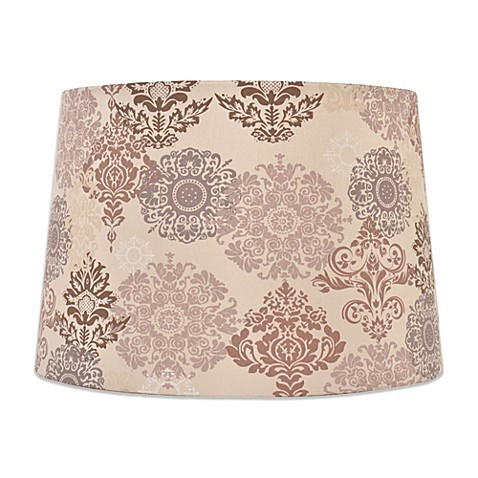 mix match medium 15 inch damask floral lamp shade in. Black Bedroom Furniture Sets. Home Design Ideas