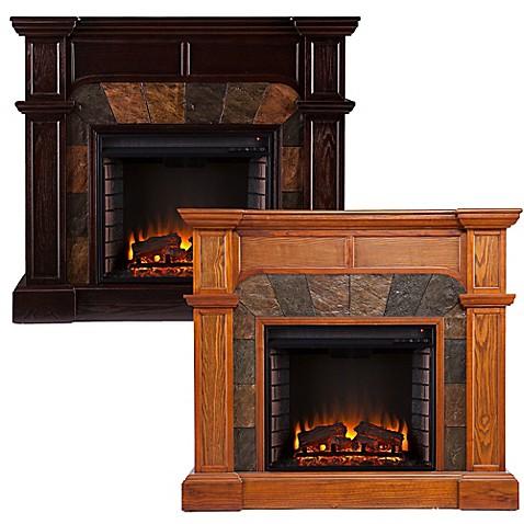 Southern Enterprises Cartwright Electric Fireplace Bed Bath Beyond