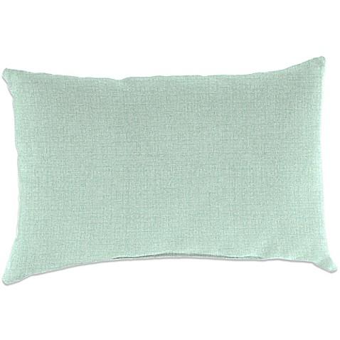 Outdoor 18 Inch X 12 Inch Rectangular Throw Pillow In Husk