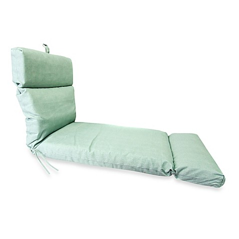 Buy 72 inch x 22 inch chaise lounge cushion in husk for Bathroom chaise lounge