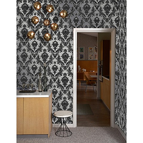 Tempaper Double Roll Removable Wallpaper In Damsel