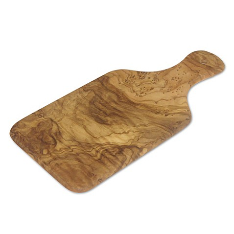 Berard Olive Wood Cutting Board with Handle at Bed Bath & Beyond in Cypress, TX | Tuggl