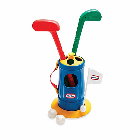 Little tikes totsports grab n go toy golf set buybuy baby for Little tikes 2 in 1 buildin to learn motor workshop