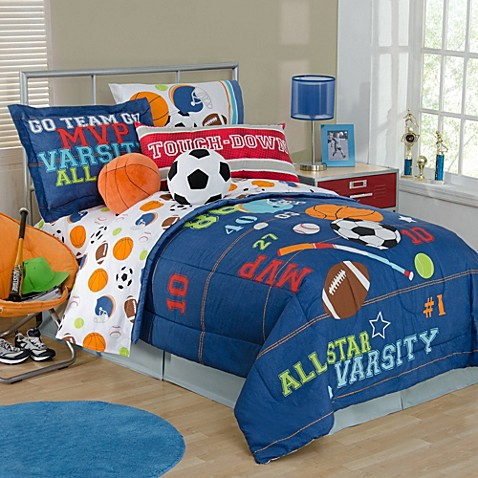 Sports Themed Toddler Bedding Sets