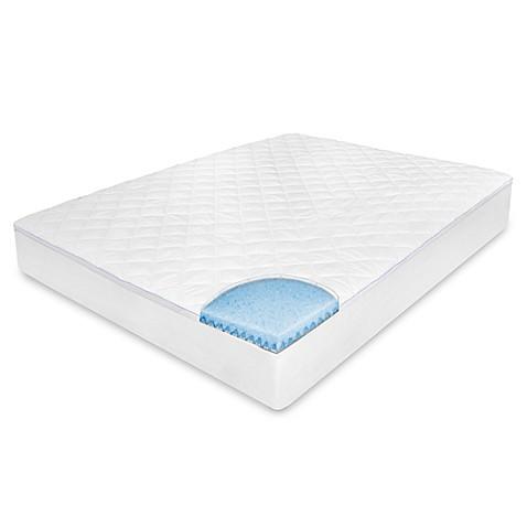 Therapedic® Memory Foam Euro Top Mattress Pad - Bed Bath & Beyond