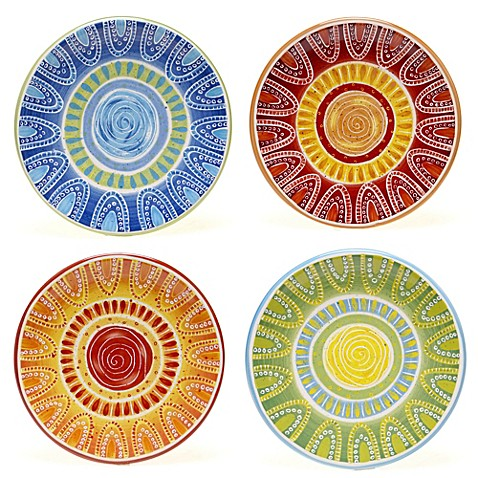 Certified international tapas canape plate set for Canape plate sets