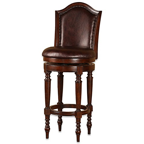 Buy Hillsdale Barcelona 26 Inch Swivel Counter Stool From