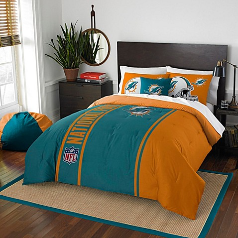 NFL Miami Dolphins Bedding Bed Bath Amp Beyond