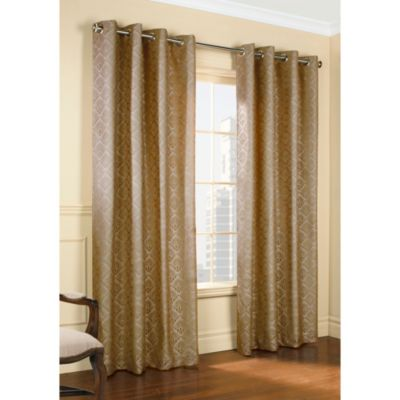 Commonwealth home fashions thermalogic 174 anna thermalace grommet window panel bed bath amp beyond