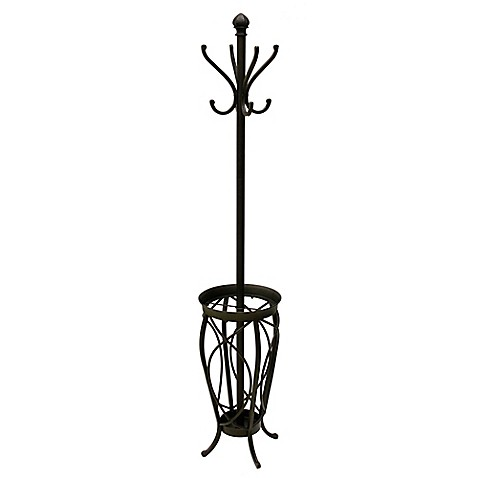 Ampersand™ Charleston Standing Coat Rack in Black at Bed Bath & Beyond in Cypress, TX | Tuggl