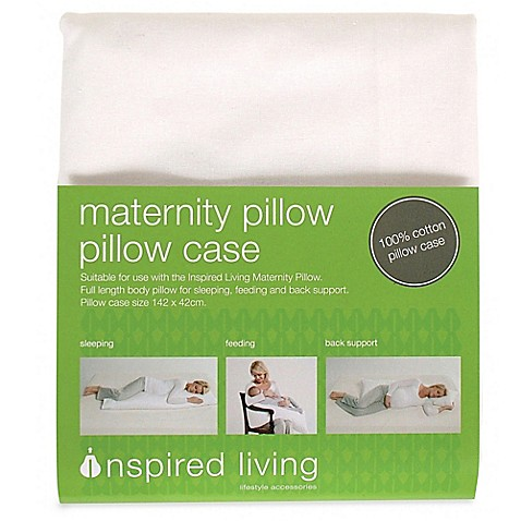 Inspired mother maternity 100 cotton pregnancy pillow for Bed bath beyond maternity pillow