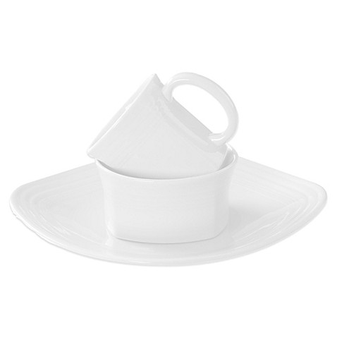 Fiesta® Square Dinnerware Collection in White at Bed Bath & Beyond in Cypress, TX | Tuggl
