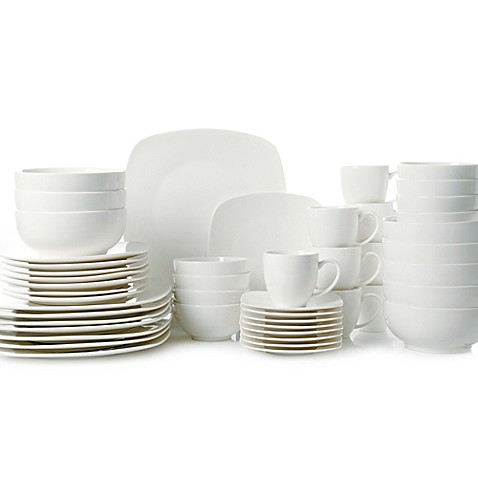 Gibson Home Madison Court 48-Piece Dinnerware Set at Bed Bath & Beyond in Cypress, TX | Tuggl