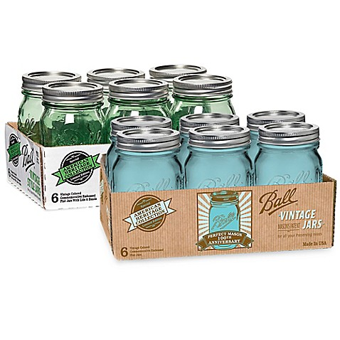 Ball® Vintage Collection Pint Jars (Set of 6)