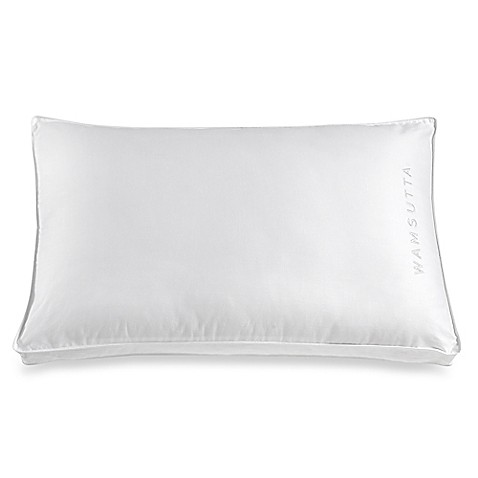 Wamsuttar extra firm side sleeper pillow bed bath beyond for Best pillow for side sleepers bed bath and beyond