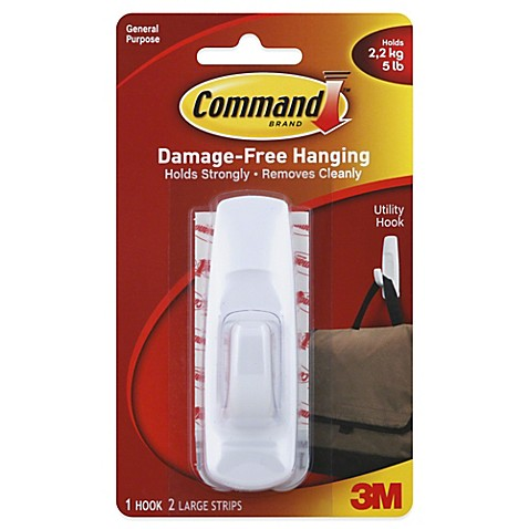Command Wall Hooks Bed Bath Beyond