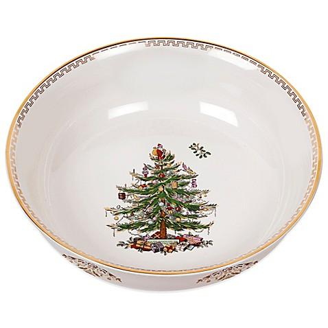 Spode Christmas Tree Gold Large Bowl Bed Bath Beyond