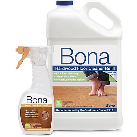Bona Hardwood Floor Cleaner Refill With Wood Furniture