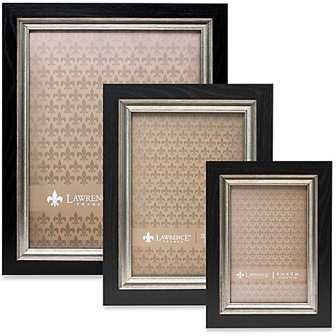 Lawrence Frames Burnished Silver Inner Picture Frame in Black at Bed Bath & Beyond in Cypress, TX | Tuggl