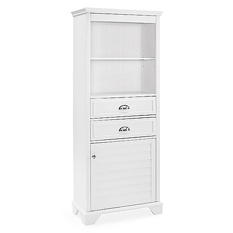 buy crosley lydia bath cabinet in white from bed bath beyond
