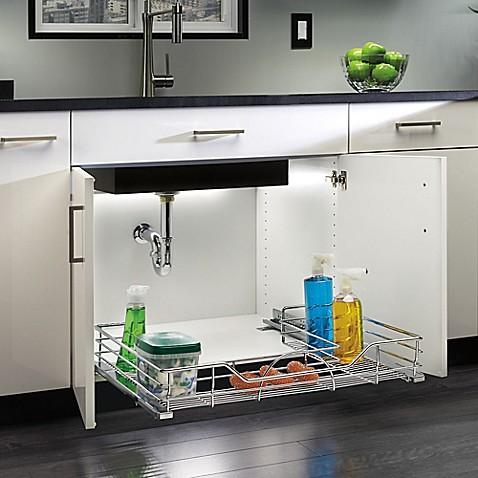 buy rev a shelf 30 inch under sink organizer from bed bath beyond. Black Bedroom Furniture Sets. Home Design Ideas
