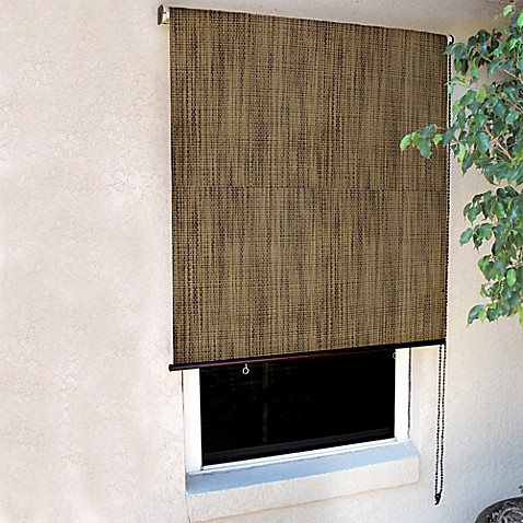 Coolaroo designer roller shade bed bath beyond - Coolaroo exterior retractable window shades ...