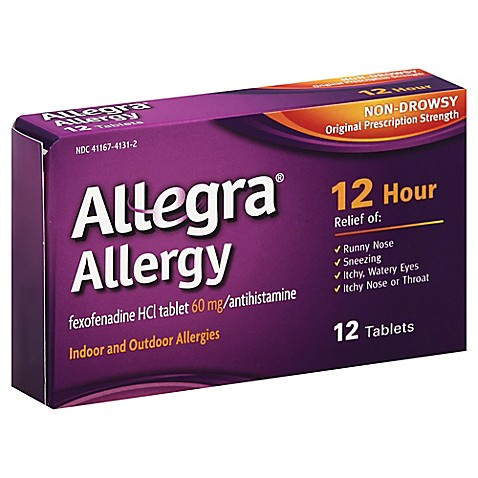 Allegra antihistamine uk