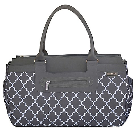 diaper bags jj cole parker weekender diaper bag in stone arbor from buy buy baby. Black Bedroom Furniture Sets. Home Design Ideas