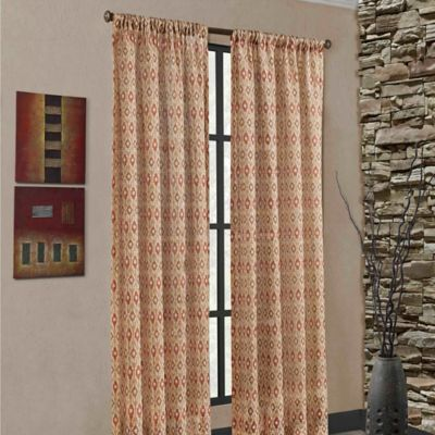 Mendes Rod Pocket Window Curtain Panel Bed Bath Beyond
