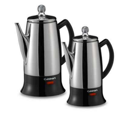 Coffee Maker With Percolator : Cuisinart Classic 12-Cup Electric Coffee Percolator - Bed Bath & Beyond