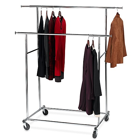 Double Clothes Rack Bed Bath And Beyond