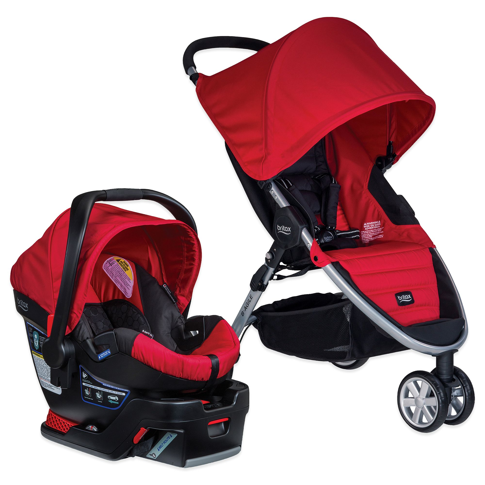 BRITAX B-AGILE®/B-SAFE® 35 Travel System in Red