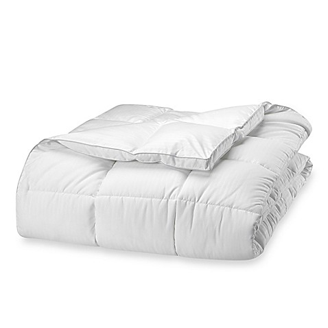 Claritin® Ultimate Allergen Barrier Embossed Stripe Comforter at Bed Bath & Beyond in Cypress, TX | Tuggl