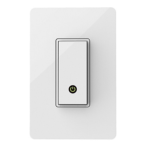 Belkin Wemo Light Switch Bed Bath Amp Beyond