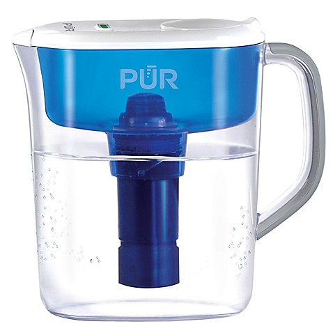 Pur ultimate 7 cup water filtration pitcher bed bath beyond - Glass filtered water pitcher ...