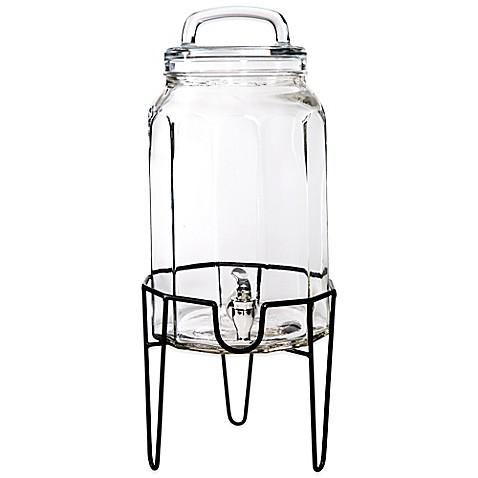 Del Sol Glass Beverage Dispenser