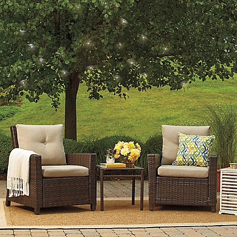 Barrington 3-Piece Wicker Club Chair Set at Bed Bath & Beyond in Cypress, TX | Tuggl