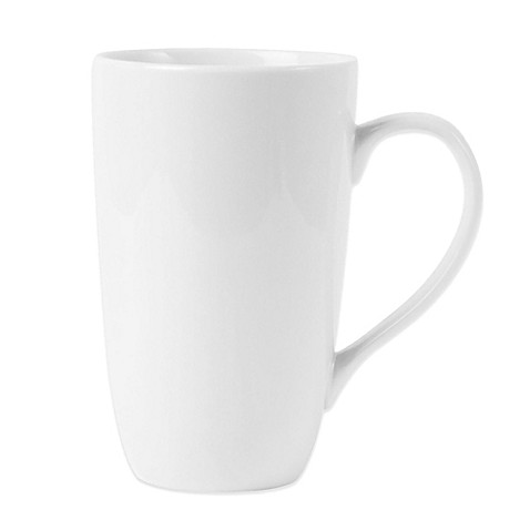 Everyday White® by Fitz and Floyd® Classic Latte Mug in White at Bed Bath & Beyond in Cypress, TX | Tuggl
