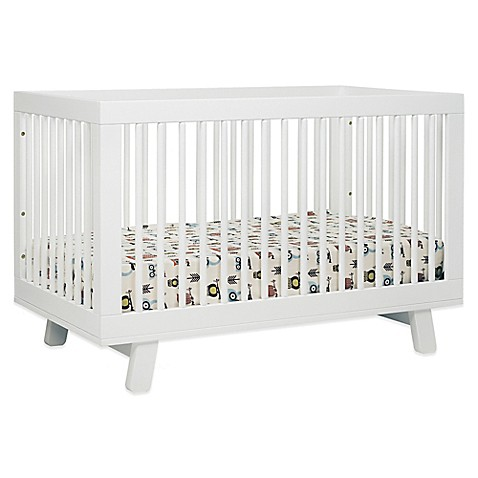 Babyletto Hudson 3 In 1 Convertible Crib In White by Bed Bath And Beyond