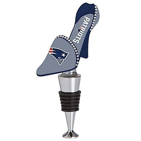 Nfl New England Patriots High Heel Shoe Bottle Stopper