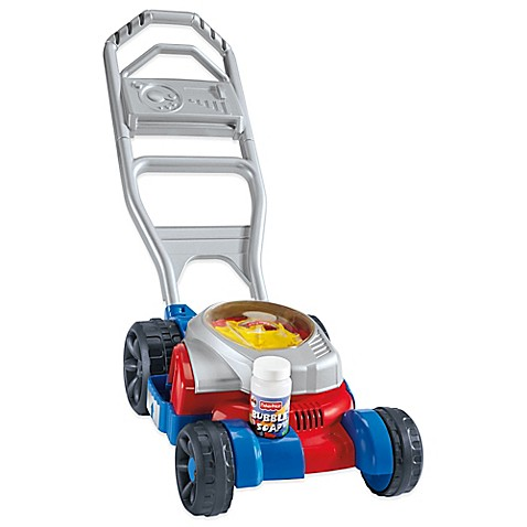 Fisher-Price® Bubble Mower in Red/Blue - Bed Bath & Beyond