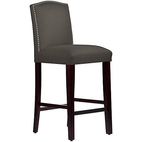 Buy Skyline Furniture Roselyn Nail Button Arched Barstool