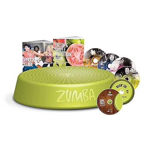 Zumba® Incredible Results™ DVD Set at Bed Bath & Beyond in Cypress, TX | Tuggl