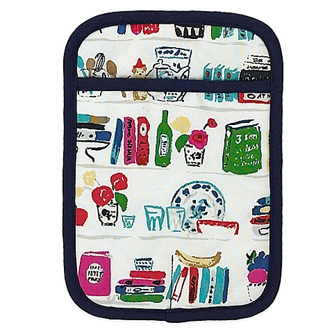 Kate spade new york cook book pot holder bed bath beyond for Bed bath and beyond kate spade