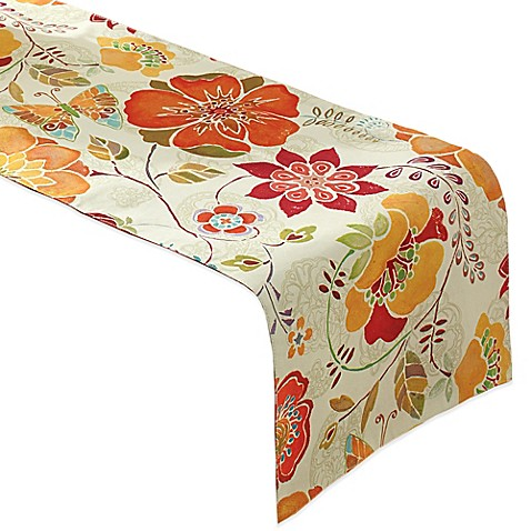 Buy free spirit 72 inch reversible umbrella table runner for Table runners 52 inches