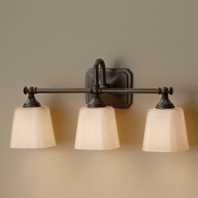 Wall Lamps Bed Bath Beyond : Feiss Concord 3-Light Wall-Mount Vanity Light - Bed Bath & Beyond