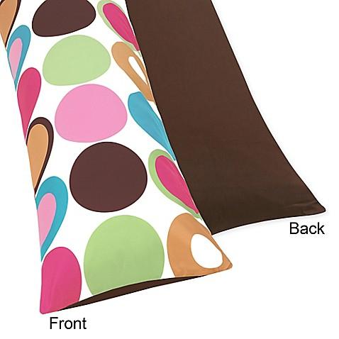 Sweet Jojo Designs Deco Dot Maternity Body Pillow Case