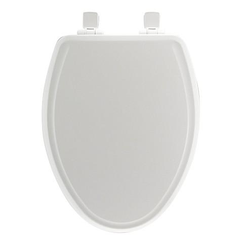 buy mayfair elongated molded wood whisper close toilet