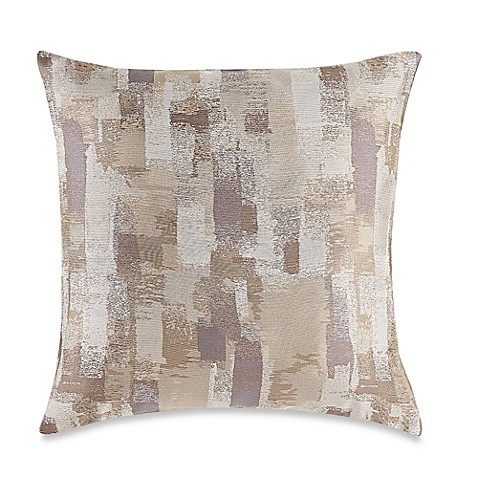 Throw Pillow Covers Bed Bath Beyond : Buy MYOP Mitro Square Throw Pillow Cover in Natural from Bed Bath & Beyond